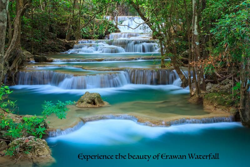 Bangkok Erawan Waterfall